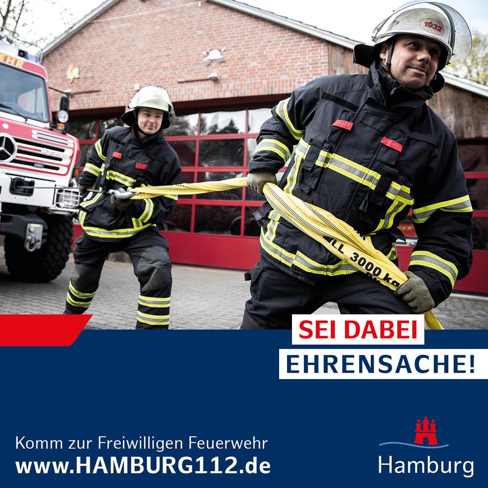 Komm zur Freiwilligen Feuerwehr! #SeiDabei #Ehrensache